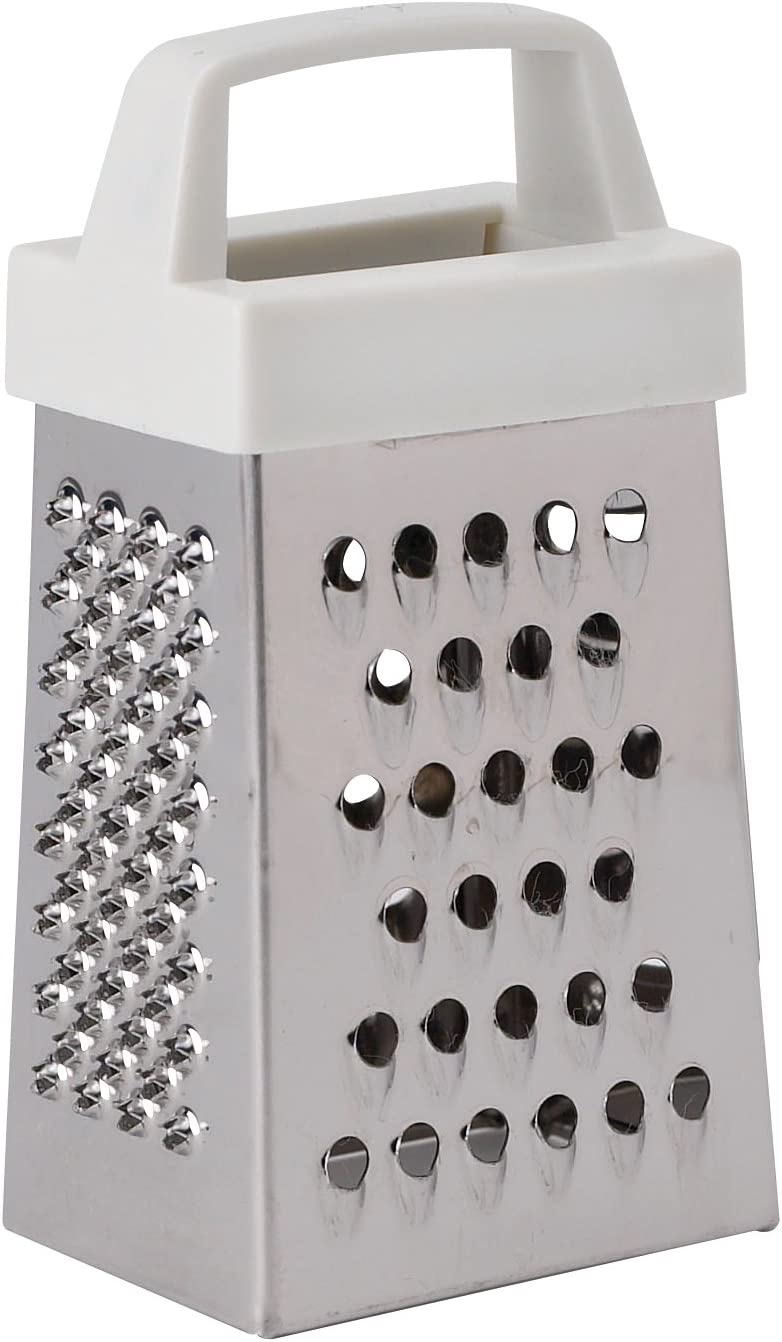HIC's Mini Garlic Grater, 93194, Stainless Steel, 3 x 1.25-Inches