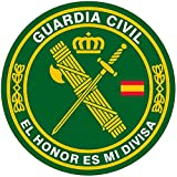 Artimagen Pegatina círculo Guardia Civil El Honor es mi divisa ø 70 mm/ud.