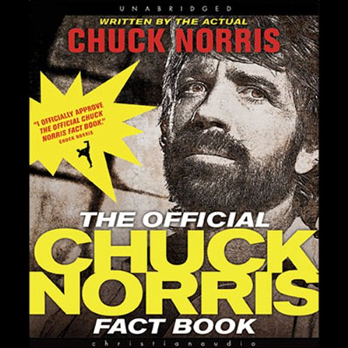 The Official Chuck Norris Fact Book audiobook cover art