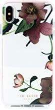 Ted Baker Fashion Anti Shock Case for iPhone Xs Max, Protective Cover iPhone Xs Max for Professional Women/Girls - Arboretum