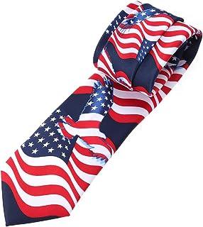 dernières tendances juste prix promotion spéciale Amazon.fr : cravate americaine : Vêtements