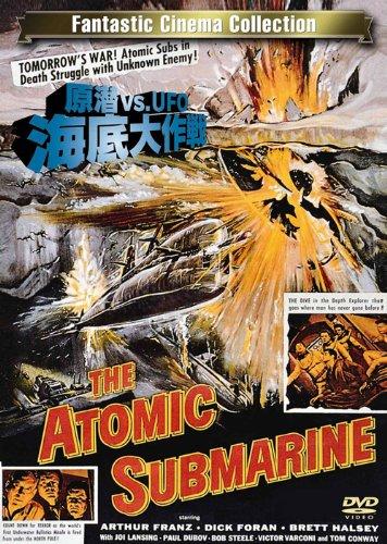 原潜vs.UFO/海底大作戦 [DVD] - アーサー・フランツ, ディック・フォラン, ブレット・ハルゼイ, スペンサー・G・ベネット