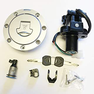 Ignition Switch Fuel Gas Cap Seat Lock Set for Honda CBR250R CB500 CB600 Hornet