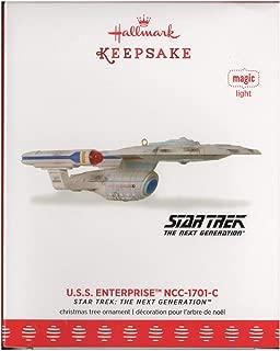 SDCC NYCC 2017 U.S.S. Enterprise NCC-1701-C Star Trek: The next Generation Hallmark Ornament