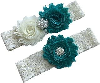 Daddasprincess Wedding Garter Ivory Bridal Lace Plus Size Garter Something Blue