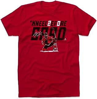 500 LEVEL Brandon Saad Shirt - Chicago Hockey Men's Apparel - Brandon Saad Kneel Before Saad