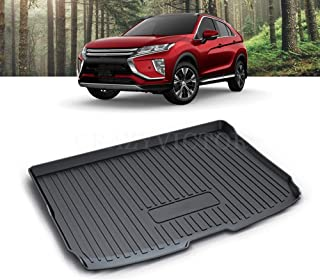 X-CAR Waterproof Trunk Cargo Mat Boot Liner Luggage Tray Compatible with Mitsubishi Eclipse Cross 2017 2018 2019 2020 2021