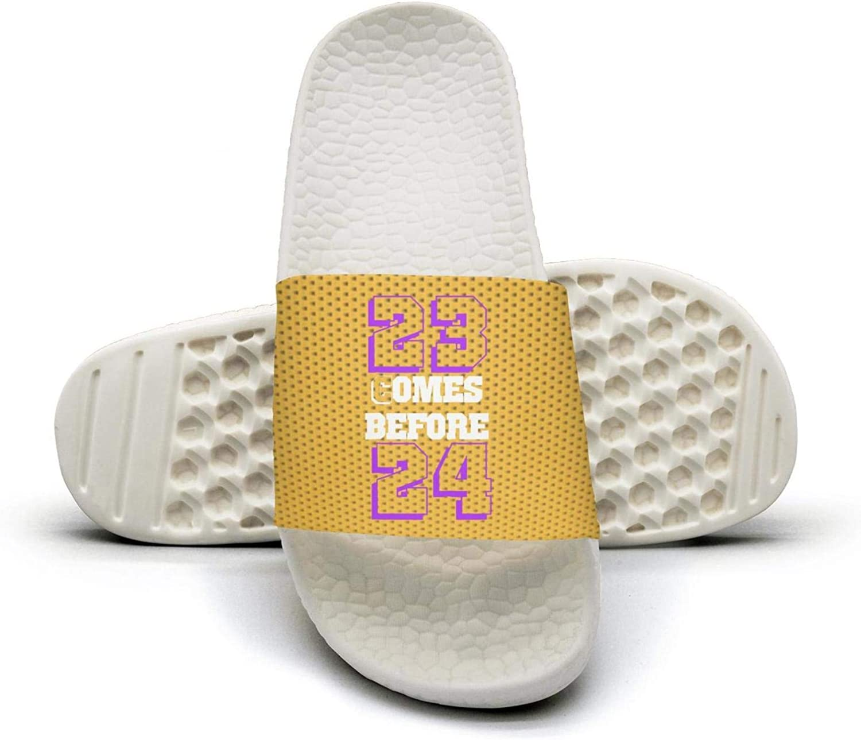 ADIDII Womens Printed Non-Slip Slippers Slides flip Flop Sandals La_Bron_Yellow_Logo_Basketball Summer Comfortable