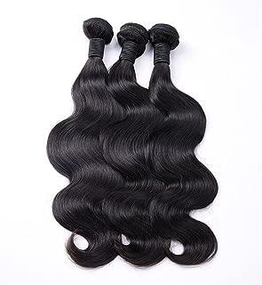 RN BEAUTY Brazilian Virgin Hair Body Wave 3 Bundles Deals Remy Human Hair Bundles Good Cheap Weave Wet And Wavy Human Hair Extensions 100g / Piece Natural Color 12/14/16 Inch