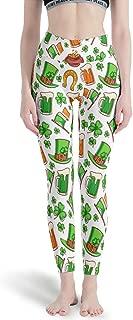 88NIUHULU - Pilates Pants Women, Leggings Depot Yoga Waist St Patrick's Day Patterns Printed Capri Workout Tights Yoga Pants for Women Designs