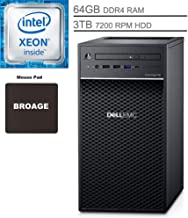 Dell PowerEdge T40 Tower Server System Desktop Computer, Intel Quad-Core Xeon E-2224G..