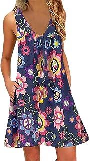 7ae50da8f Amazon.es: Dibujos Animados - S / Vestidos / Mujer: Ropa
