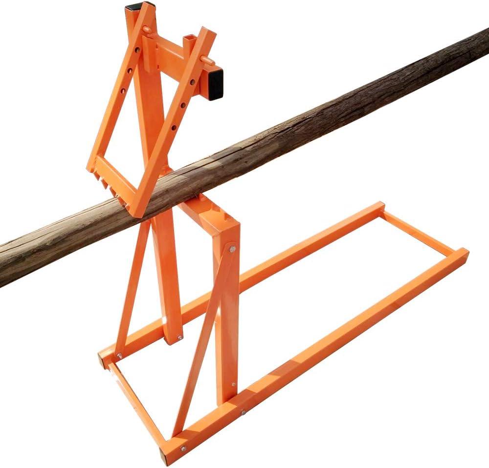 SALE開催中 Smart-Holder Saw Horse Folding Wood マート Log Lumberjack Holder Tools