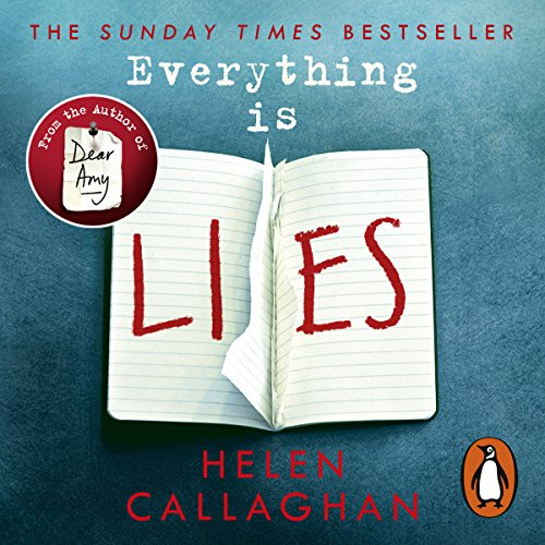 Everything Is Lies audiobook cover art