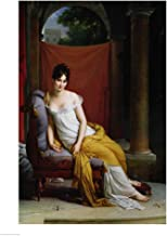 Portrait of Madame Recamier by Francois Gerard Art Print, 24 x 32 inches