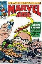 Marvel Age - The Official Marvel News Magazine #14 : John Byrne Interview (Marvel Comics)