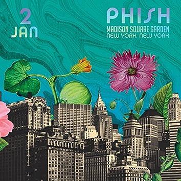Phish: 1/2/2016 Madison Square Garden, New York, NY