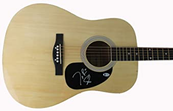 Joe Don Rooney Rascal Flatts Authentic Signed Acoustic Guitar BAS #D17692
