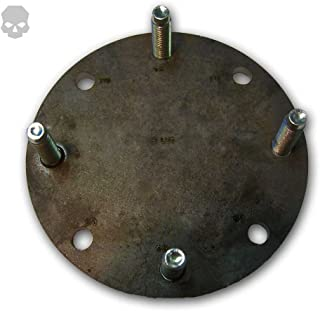 Multi-Pattern 8 Lug Spare Tire Mounting Plate