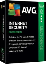 $88 » AVG Technologies AVG Internet Security 2020, 10 Devices 2 Year 2020