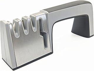 Knife sharpener-Kitchen 4 in 1 Knife and scissors Sharpener-3 stage knife sharpening kit manual system