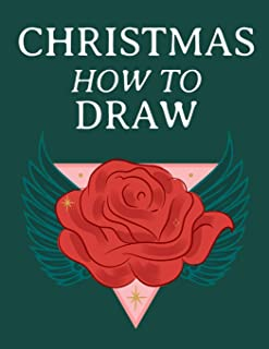 Christmas How To Draw: Holiday Inspired Tatoos Sketchbook Makeup Chart Book & Tatoo Artist Sketch Book For Drawing Beautif...