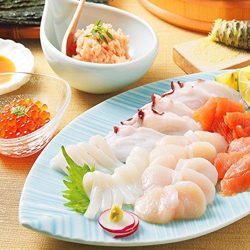 タラバガニ ズワイガニ 海鮮 プレミアム ギフトセット (北海道 お刺身6種 ギフトセット)