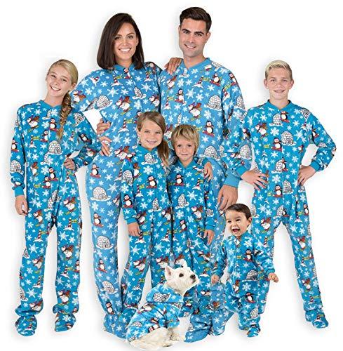 Footed Pajamas - Family Matching Arctic Playground...