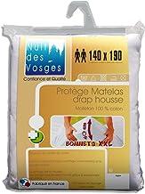 Nuit des Vosges 2090918 C/éline Prot/ège Matelas Imperm/éable Sp/écial Banquette Coton Blanc 130 x 190 cm