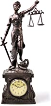 MASCARELLO - Reloj de mesa clásico de cuarzo antiguo, decoración de mesa para el hogar o la oficina