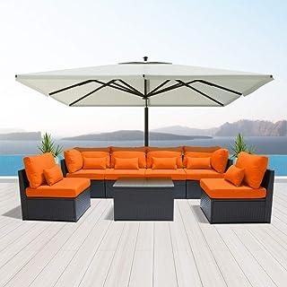 Remarkable Amazon Com Orange Patio Furniture Sets Download Free Architecture Designs Momecebritishbridgeorg
