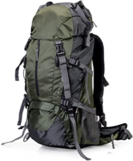 Outdoor Mountaineering Bag Multi-Function Travel Backpack Hiking Camping Backpack Large Capacity Removable Breathable 40L FKYGDQ (Color : Green)