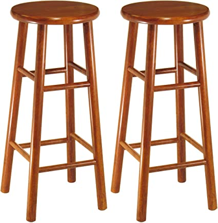Winsome Wood 75280 Tabby Stool,  30-Inch,  Cherry