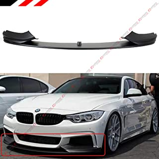 Performance Style Front Bumper Lip Spoiler Splitter Fits for 2014-2019 BMW F32/F36/F33 4 Series With M Sport Bumper