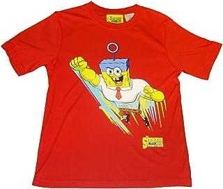 "Nickelodeon The SpongeBob Movie ""Sponge Out Of Water"" Boys` T-Shirt"