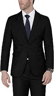 Men's Suits One Button Slim Fit 2-Piece Suit Blazer Jacket Pants Set
