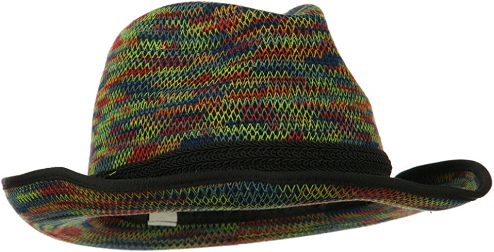 Jeanne Simmons Women's Triple Hat Fedora Band Tucson Mall Wool Direct store - Multi