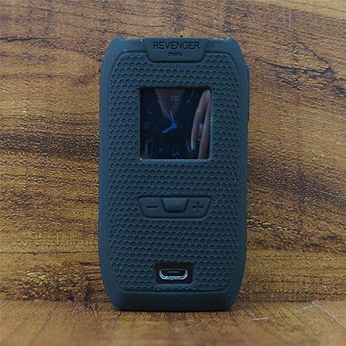ModShield for Vaporesso Revenger MINI 85W TC Silicone Case ByJojo Cover Shield Skin Wrap (Black)