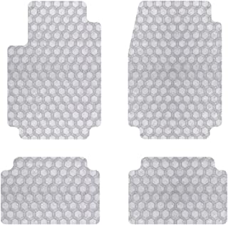 Intro-Tech MB-172-RT-C Hexomat Front and Second Row 4-Pc. Custom Fit Auto Floor Mats for Select Mercedes W460/W461 G-Class Models - Rubber-Like Compound, Clear