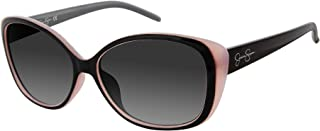 Women's J5012 Glamorous Cat-Eye Sunglasses with 100% UV Protection, 55 mm