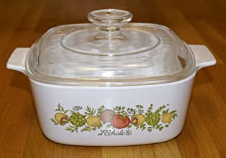 Corning Ware Spice of Life 1.5 Quart Casserole with Lid A-1 1/2 -B