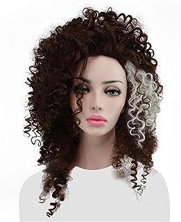CrazyCatCos Bellatrix Lestrange Cosplay Wig Long Brown Hair Halloween Costume Wig