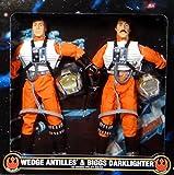 12 inches Kenner Star Wars Wedge Antilles & Biggs Darklighter in Rebel Gear by Kenner