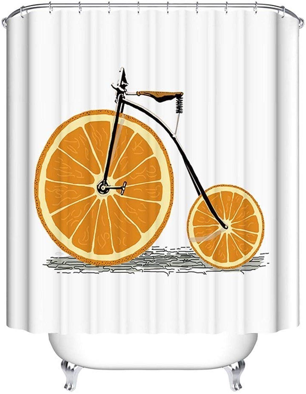 Entrega rápida y envío gratis en todos los pedidos. FDCC FDCC FDCC La Cortina de la Ducha Material de poliéster Impermeable Gruesas Cortinas de Ducha blancoo 150x180cm 200x180cm la projoección de Soft (Tamao  180  180 cm)  n ° 1 en línea