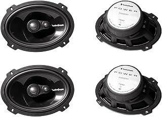 """2 Pairs Rockford Fosgate T1693 6X9"""" Power Series 3 Way Car Audio Speakers"""
