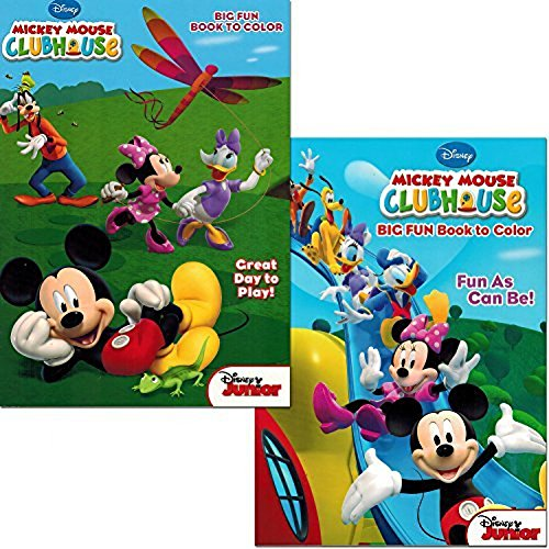 - Mickey Mouse Clubhouse Coloring Book Set- Buy Online In Israel At Desertcart