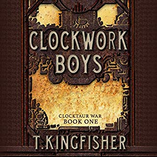Clockwork Boys audiobook cover art