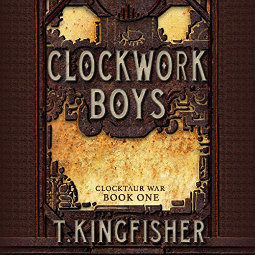 Clockwork Boys cover art