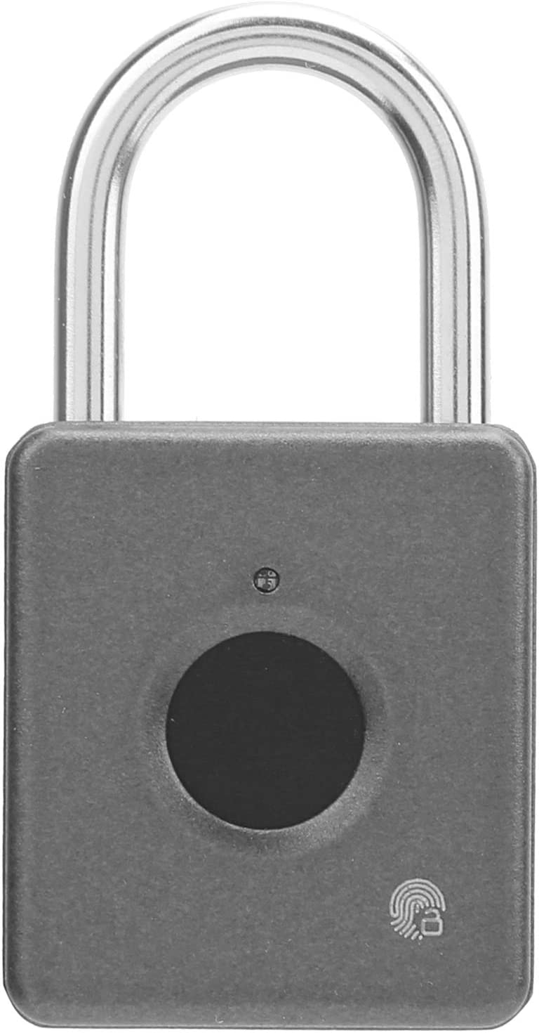 Safety and trust Smart Door Now free shipping Lock Fingerprint Padlock Lightweight US Compact with