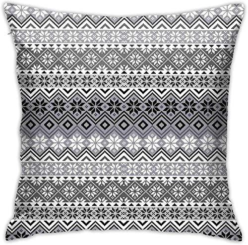 MODORSAN Pattern (9) Throw Pillow Cover Decorative Pillow Case Home Decor Square 18x18 Inches Pillowcase